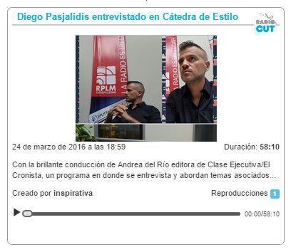 entrevista catedra de estilo 24032016